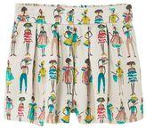 MANGO Girls Printed flowy shorts