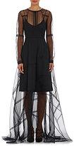 Gary Graham Women's Silk Organza Gown-BLACK