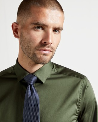 Ted Baker Plain Cotton Shirt