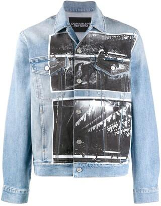 Calvin Klein Jeans x Andy Warhol denim jacket