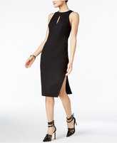 GUESS Pia Strappy-Back Keyhole Sheath Dress