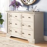 Laurèl Mechling 6 Drawer Double Dresser Foundry Modern Farmhouse Color: Cobblestone