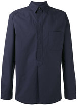 A.P.C. plain shirt - men - Cotton - S