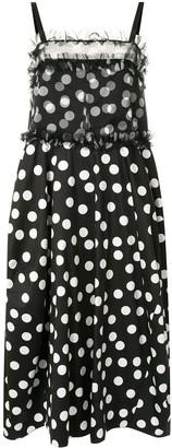 Lee Mathews Cherry Spot balloon dress