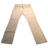 BCBGMAXAZRIA Grey Cotton - elasthane Jeans