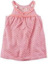 Carter's Toddler Girl Patterned Fringe Woven Top
