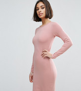 Asos Long Sleeve Bodycon Mini Dress