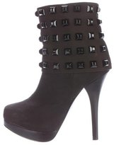 Thomas Wylde Studded Ankle Boots