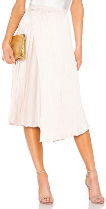 Vince Mixed Pleat Skirt
