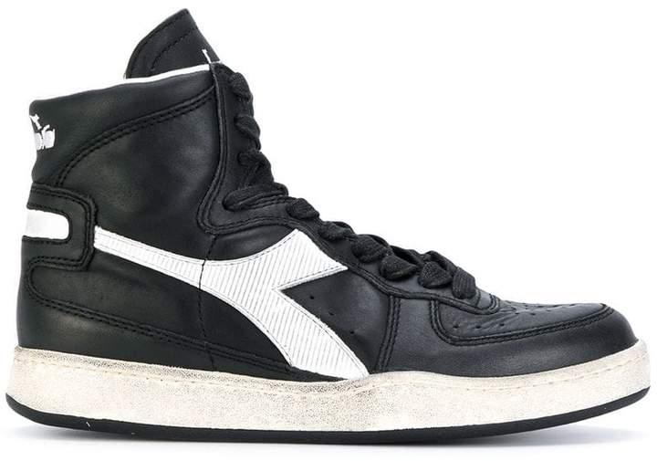 Diadora Mi Basket Used hi-top sneakers