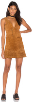 Capulet Roxy Tie Front Mini Dress