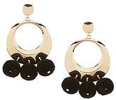 Anna & Ava Aryana Pom Pom Drop Earrings