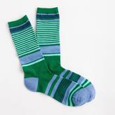 J.Crew Trouser socks in mixed stripe