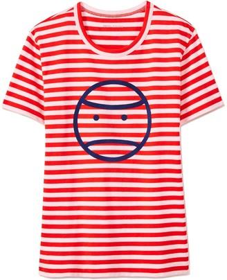 Tory Burch Striped Little Grumps T-Shirt