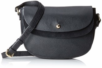 Pieces Pcmagda Leather Cross Body Womens Cross-Body Bag