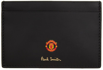 Paul Smith Black Manchester United Edition Scarves Card Holder