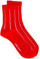 Henrik Vibskov ribbed trim socks - women - Nylon - One Size