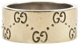 Gucci 18K Yellow Gold Band Ring Size 8