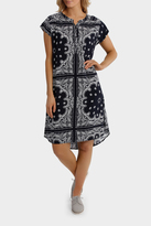 Jump Short Sleeve Paisley Dress