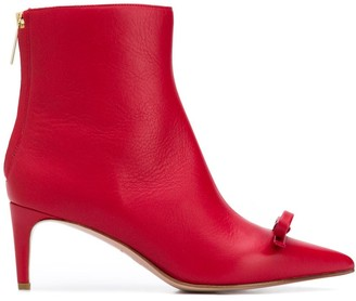RED Valentino Bow Detail 65mm Boots
