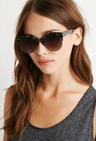 Forever 21 Half-Rim Cat-Eye Sunglasses
