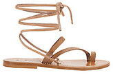 K. Jacques Ellada Ankle Wrap Sandals