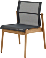 Houseology Gloster Sway Teak Stacking Chair - Meteor - Grey