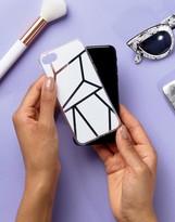 Signature Geo Block Print Iphone 7 Case