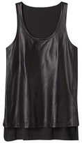 Derek Lam Leather Lane Tank