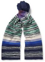 Missoni - Striped Wool-blend Scarf