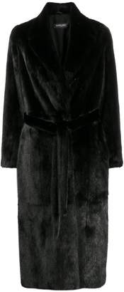 Simonetta Ravizza textured furry coat