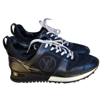 Louis Vuitton Run Away Black Patent leather Trainers