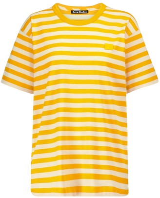 Acne Studios Striped cotton T-shirt