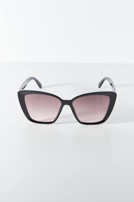 Poppy Oversized Cat-Eye Sunglasses