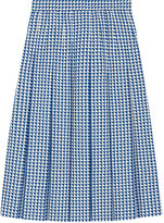Gucci Pleated wool skirt