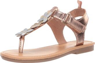 Carter's Girl's Nala Flower T-Strap Sandal