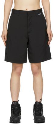 Stussy Black Mom Tech Shorts