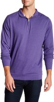 Peter Millar Interlock Quarter Zip Sweatshirt