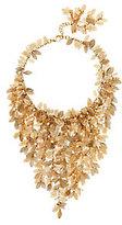 Rosantica Filigrane Leaf & Pearl Necklace