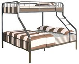 ACME Furniture Caius Kids Bunk Bed - Gunmetal(Twin XL/Queen) - Acme