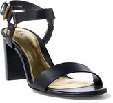 Ralph Lauren Harri Vachetta Leather Sandal