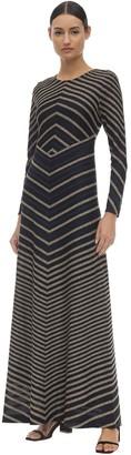 Missoni Viscose Blend Intarsia Knit Dress