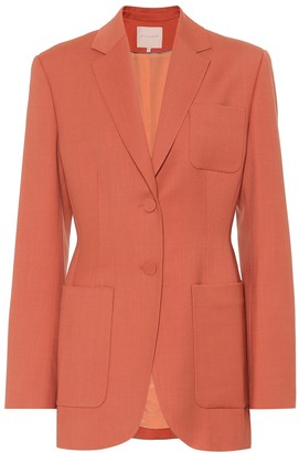Roksanda Sienna wool-blend blazer