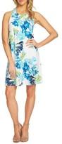 CeCe Women's Twist Racerback Floral Shift Dress