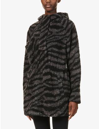 Varley Whitfield printed fleece sweatshirt