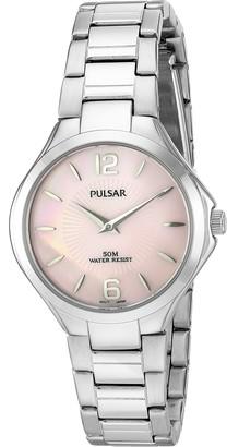 Pulsar Women's 'Dress Sport' Quartz Stainless Steel Dress Watch (Model: PM2215)