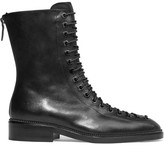 Givenchy Ranita Boots In Black Leather - IT41