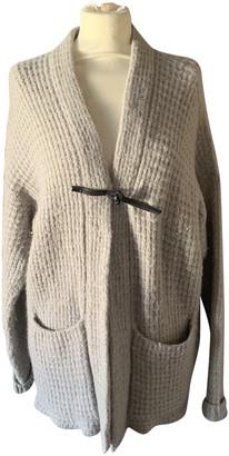 Bark Beige Wool Coats