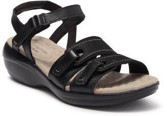 Clarks Alexis Shine Ankle Strap Sandal