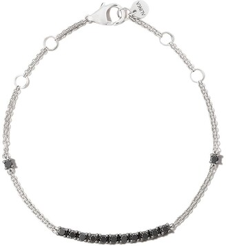 Riviera 18kt white gold diamond bracelet
